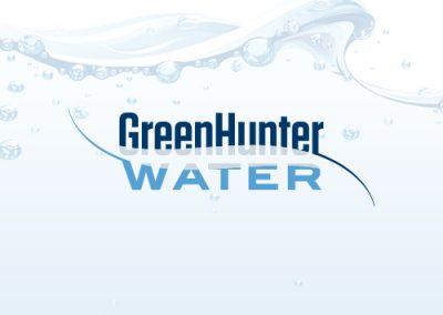 Green Hunter Water logo