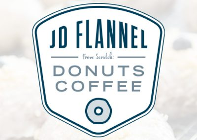 JD Flannel Donuts Coffee logo